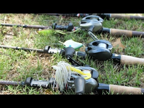 Fishing Home Lakes with Same Lures