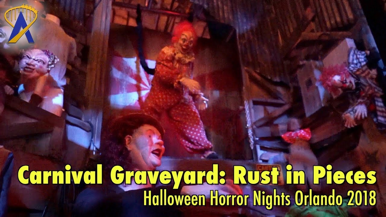 carnival graveyard: rust in pieces highlights from halloween horror