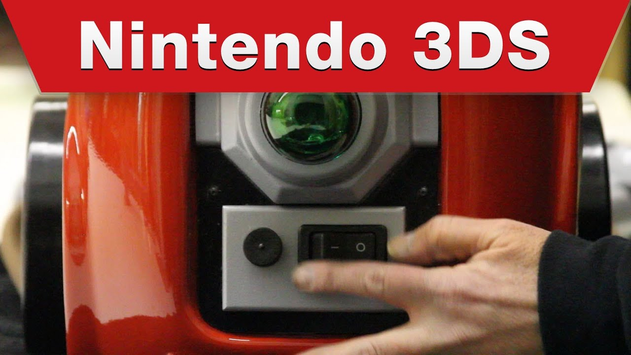 Nintendo 3ds Luigis Mansion Dark Moon Poltergust 5000 Making Of