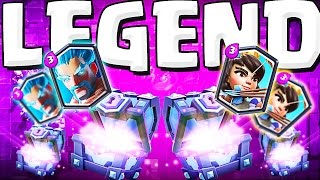 SO MANY LEGENDARIES!   ::  Clash Royale  ::  AMAZING SUPER MAGICAL CHEST OPENING!