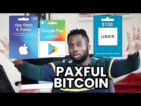 How To Buy Bitcoin With Gift Cards On Paxful - Step By Step