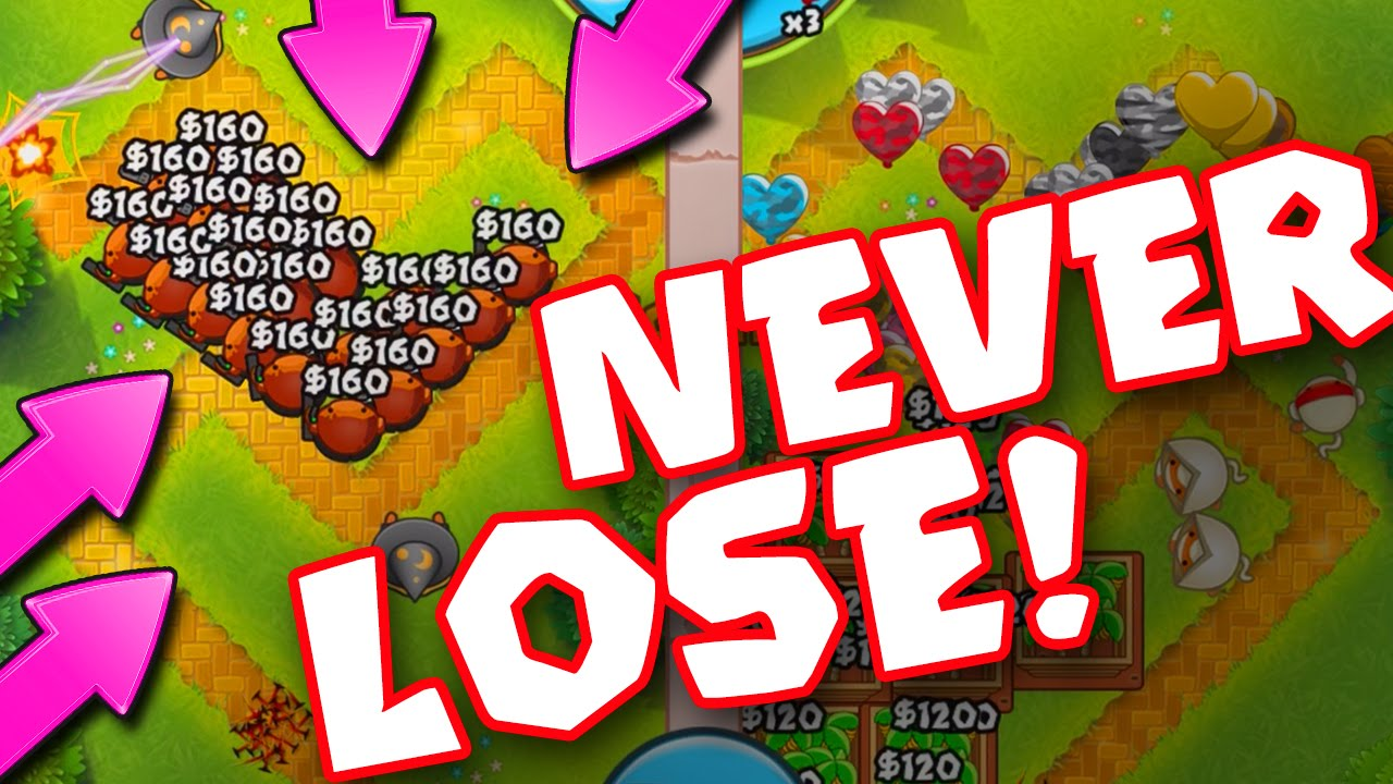 Bloons TD Battles :: NEVER LOSE... EVER :: THIS STRATEGY IS INSANE ...