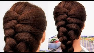 BASIC FRENCH BRAID !! MIN EASY & QUICK EVERYDAY HAIRSTYLES !!!