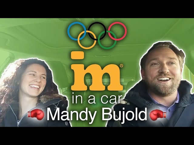 IM In A Car :) with Mandy Bujold - Canadian Olympic Boxer!