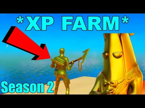 *XP FARM* Fortnite How To LEVEL UP FAST In Season 2!