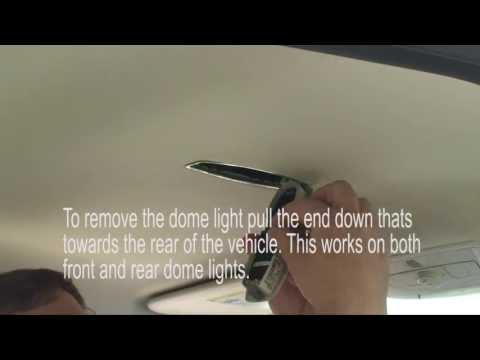Ford Focus 2013 LED light upgrade