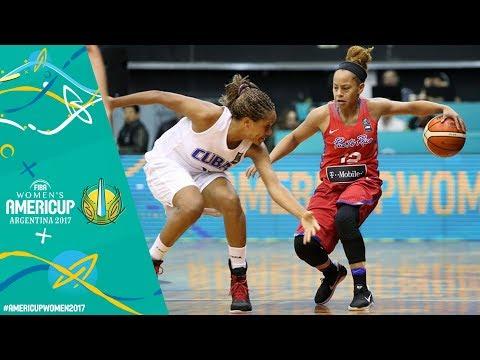 Cuba v Puerto Rico - Full Game - FIBA Women's Americup 2017