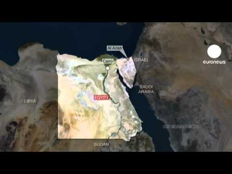 Egyptian gas pipeline station blown up