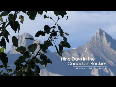 Nine Days in the Canadian Rockies