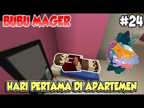 SEHARIAN JADI ANAK HILANG!! BUBU DIGIGIT NYAMUK 😂 - Minecraft SANS SMP Indonesia