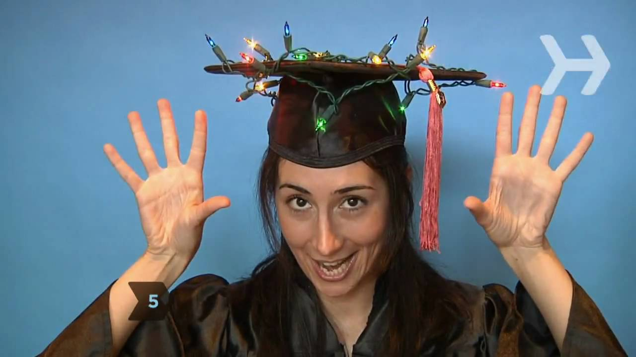 How to Decorate Your Graduation Cap - YouTube