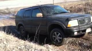 Oldsmobile Bravada Off Roading through hell PT4 Mudbath