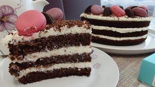 """Торт """"Кофейный"""". Простой рецепт вкусного торта."""