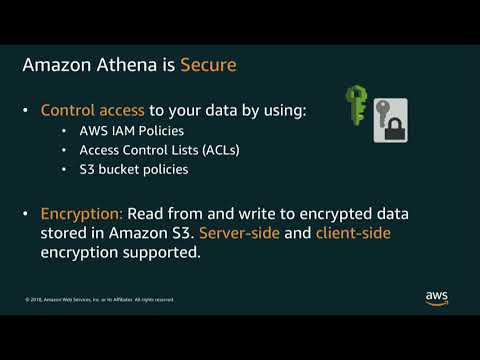 JOIN 2018 – Data Lake Analytics: Using AWS Redshift Athena and S3