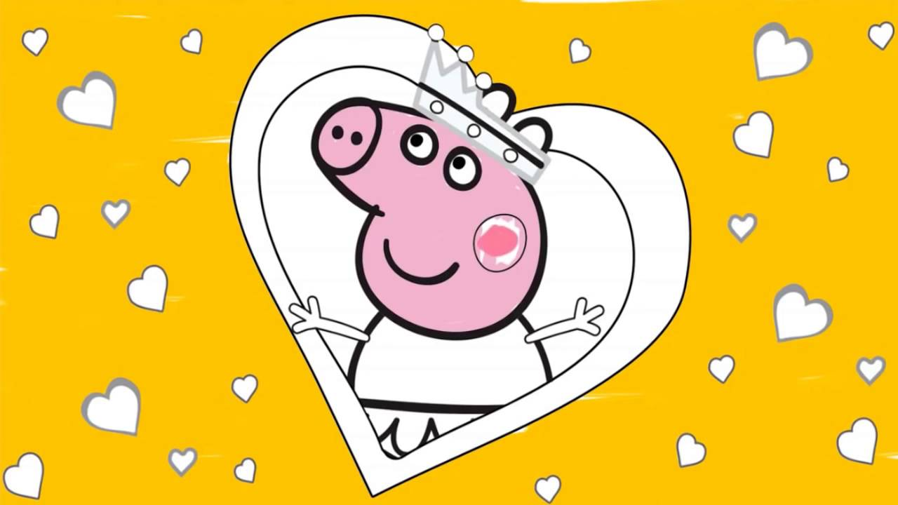 Cartoon Game Peppa Pig Coloring Pages3 Peppa Coloring Book Full