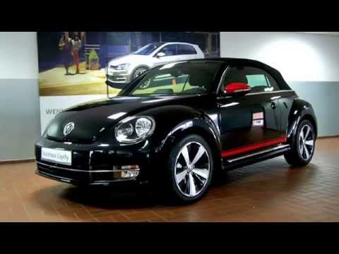 volkswagen beetle cabriolet 1 2 tsi club club deep black perleffekt autohaus czychy youtube. Black Bedroom Furniture Sets. Home Design Ideas