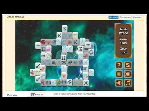 Zodiac Mahjong Level 17/300