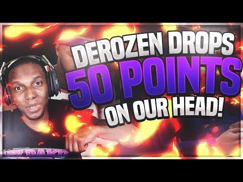 Demar Derozen Goes Crazy! NBA 2K18 My Career-Drops 50 Points On Us!