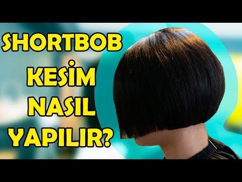 KÜT SAÇ NASIL KESİLİR?-Short Bob
