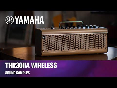 Yamaha THR30IIA Wireless Desktop Amplifier   Sound Samples