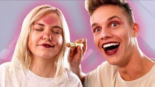 Luca schminkt mich - Ich schminke Luca (Kelly vs ConCrafter)