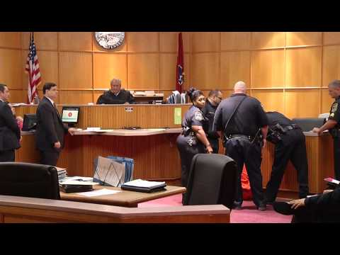 Courtroom fight breaks out in Hamilton County, TN courtroom