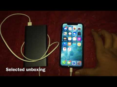How to fast charge iPhone X in Rs.1200 only  (HINDI)