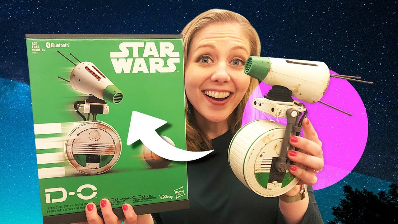 New Star Wars D O Droid Toy Hands On First Impressions Youtube