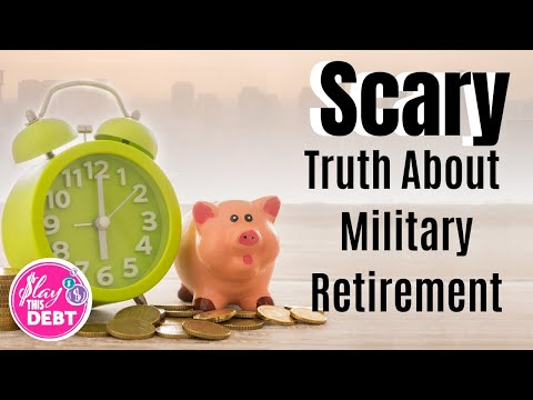 🔥The Scary Truth About Military Retirement