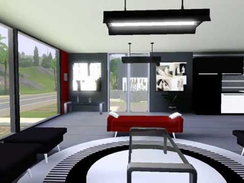 Attrayant Modern Beach House, THE SIMS 3. Interior Design