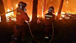 Два человека стали жертвами лесных пожаров в Испании (новости)