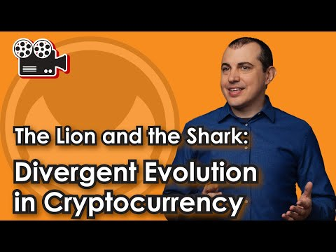 The Lion and the Shark: Divergent Evolution in Cryptocurrency