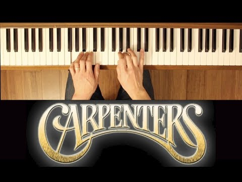 Superstar (The Carpenters) [Easy-Intermediate Piano Tutorial]