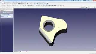 freecad primer tutorial creacin de una pieza