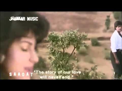 Wada Raha Sanam Jhankar   Khiladi 1992, Jhankar Beats Remix song Frm SAADAT 360p
