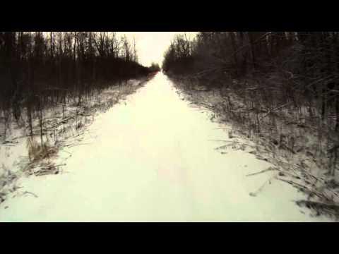 Newtonville Snowy Ride