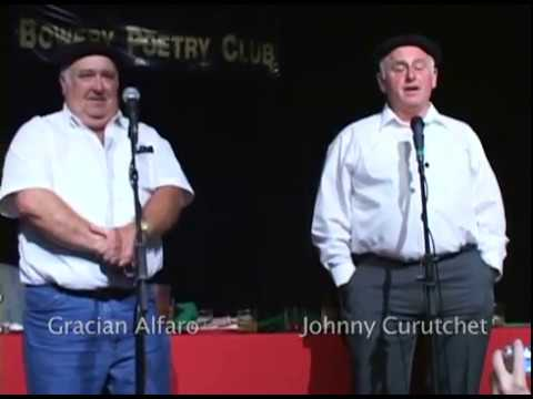 Basque Poetry Duel at the Bowery Poetry Club Dinner