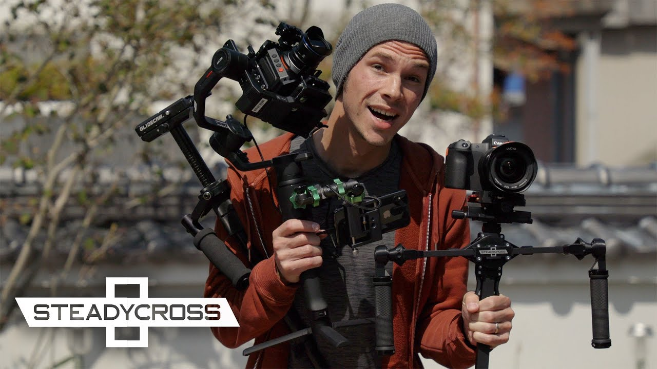An Amazing NEW Type of Camera Stabilizer | SteadyCross
