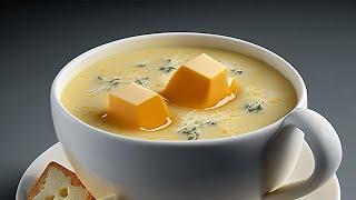Рецепт настоящего сырного супа ! ИЗ СЫРА !