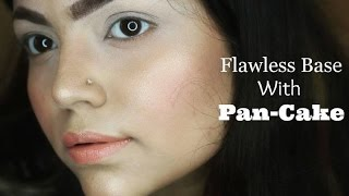 How to Get a Flawless Base with Pan-Cake | Pancake Makeup Tutorial