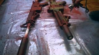 Покраска привода в камуфляж MultiCam + vz95 / Camo painting a airsoft gun MultiCam + vz95(, 2015-03-07T22:56:29.000Z)