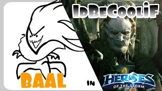 Baal in Heroes of the Storm [idbecoolif]