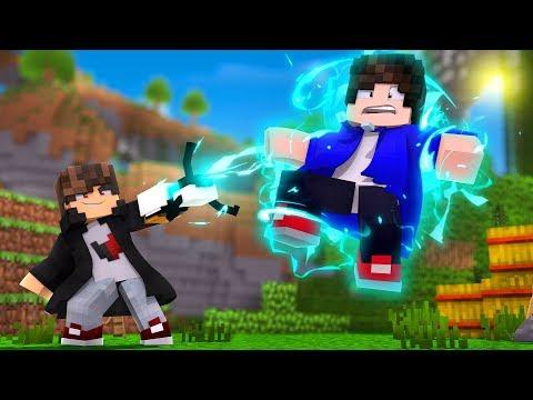 Minecraft: MUNDO L - FIZEMOS UMA GRAVITY GUN - ‹ JUAUM › #14