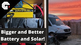 Even Bigger DIY Solar Battery Banks and Power Systems! w/Glytch