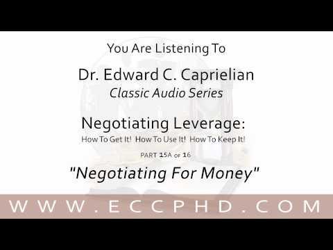 """Negotiating For Money"""