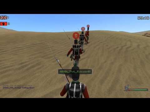 Mount Warband Napoleonic Line Battle 48TH NORTHAMPTONSHIRE 12/27/12