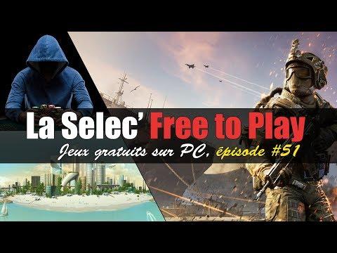La Selec' Free to Play | Top 5 jeux gratuits sur PC (épisode #51)