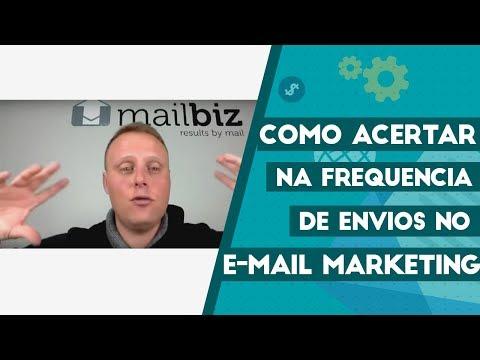 Como acertar na frequência de envios no Email Marketing