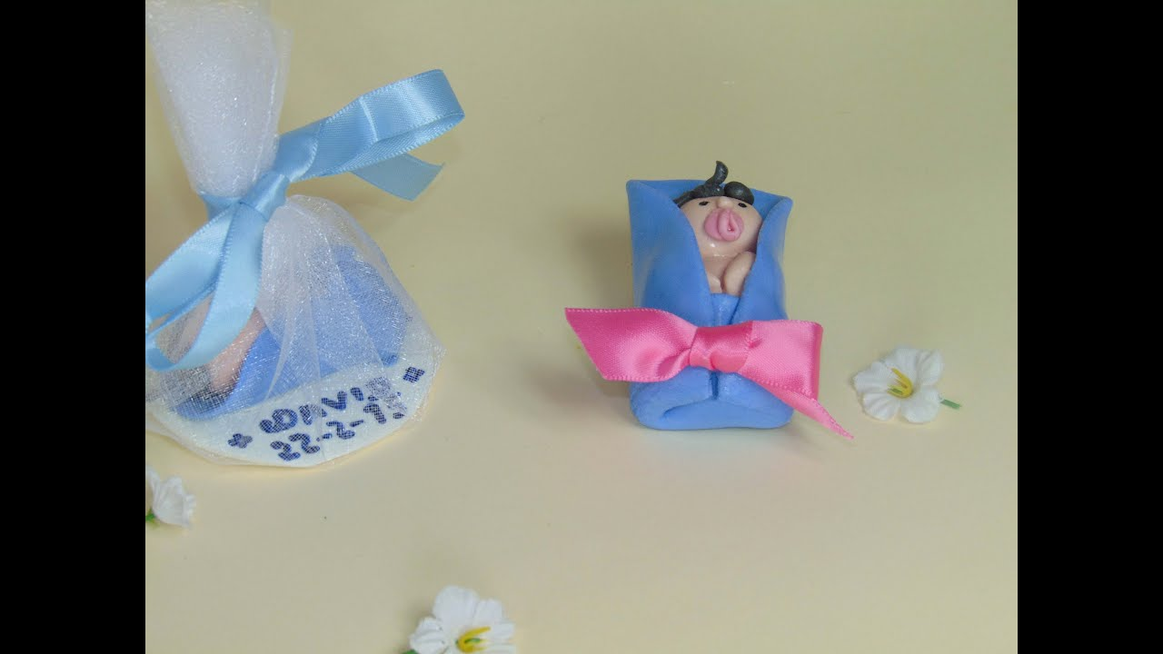 Hacer souvenirs para bautizo con porcelana fr a casera - Ver como hacer manualidades ...