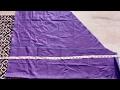 How to Patiala salwar cutting easy method